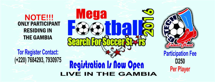 Soccer Trials In The Gambia