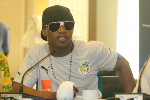 African Football Player El Hadji Ousseynou Diouf