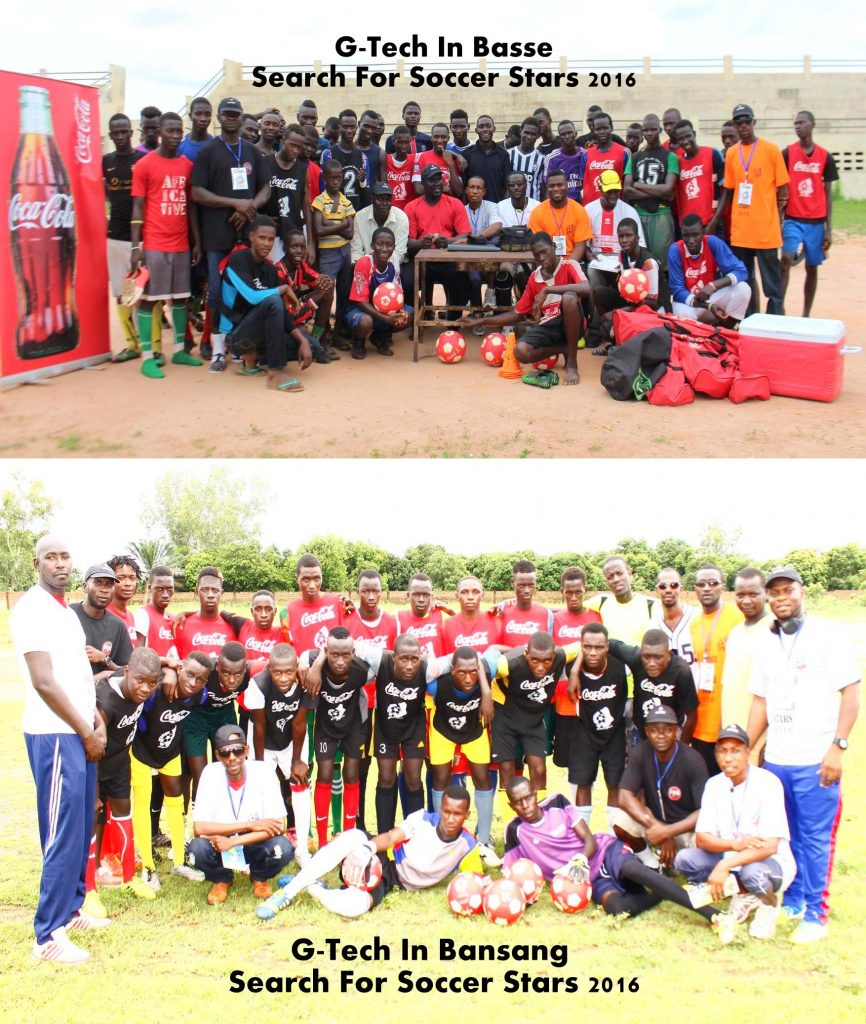 Football Trials In Basse and Bansang